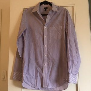 Jcrew non-iron slim dress shirt